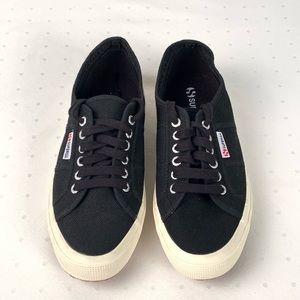 Superga Black Canvas Sneakers - UNISEX